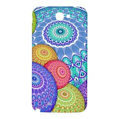 India Ornaments Mandala Balls Multicolored Samsung Note 2 N7100 Hardshell Back Case