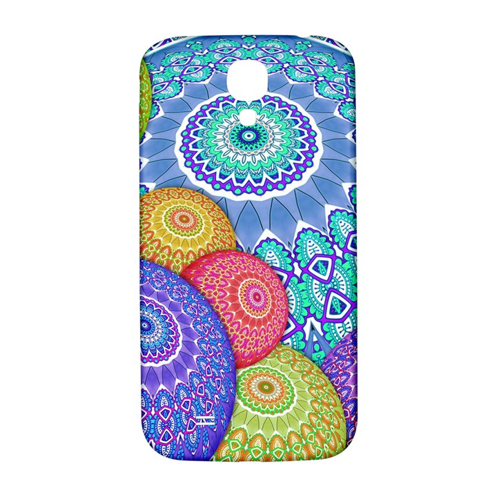 India Ornaments Mandala Balls Multicolored Samsung Galaxy S4 I9500/I9505  Hardshell Back Case