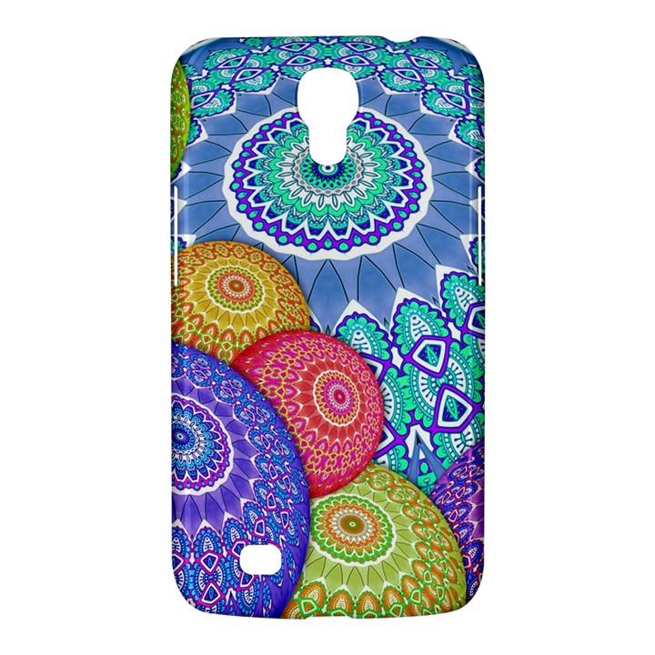 India Ornaments Mandala Balls Multicolored Samsung Galaxy Mega 6.3  I9200 Hardshell Case