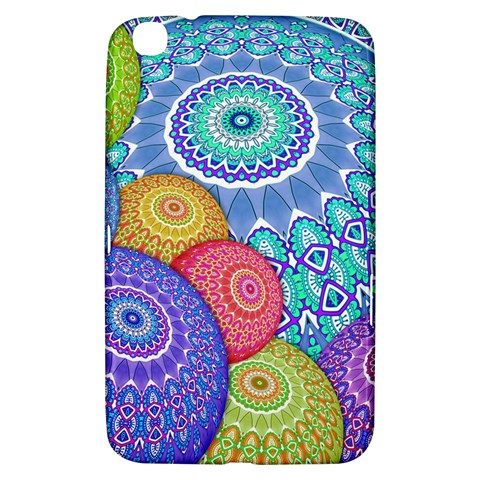 India Ornaments Mandala Balls Multicolored Samsung Galaxy Tab 3 (8 ) T3100 Hardshell Case