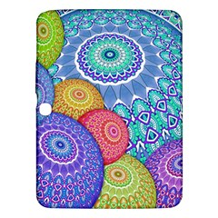 India Ornaments Mandala Balls Multicolored Samsung Galaxy Tab 3 (10 1 ) P5200 Hardshell Case
