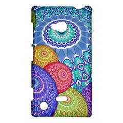 India Ornaments Mandala Balls Multicolored Nokia Lumia 720