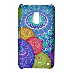India Ornaments Mandala Balls Multicolored Nokia Lumia 620