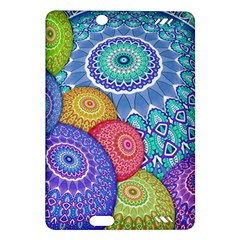 India Ornaments Mandala Balls Multicolored Amazon Kindle Fire HD (2013) Hardshell Case