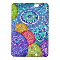 India Ornaments Mandala Balls Multicolored Kindle Fire Hdx 8 9  Hardshell Case