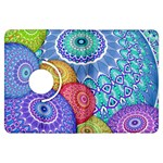 India Ornaments Mandala Balls Multicolored Kindle Fire HDX Flip 360 Case Front