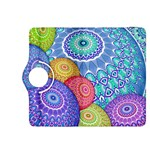 India Ornaments Mandala Balls Multicolored Kindle Fire HDX 8.9  Flip 360 Case Front