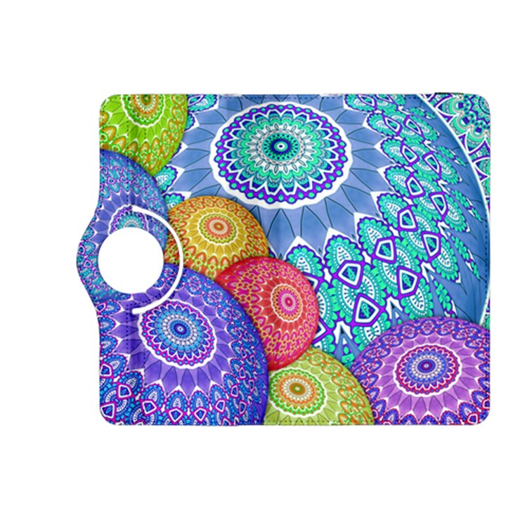 India Ornaments Mandala Balls Multicolored Kindle Fire HDX 8.9  Flip 360 Case