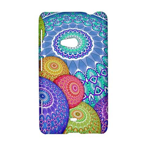 India Ornaments Mandala Balls Multicolored Nokia Lumia 625