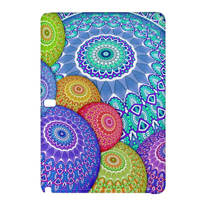 India Ornaments Mandala Balls Multicolored Samsung Galaxy Tab Pro 10.1 Hardshell Case
