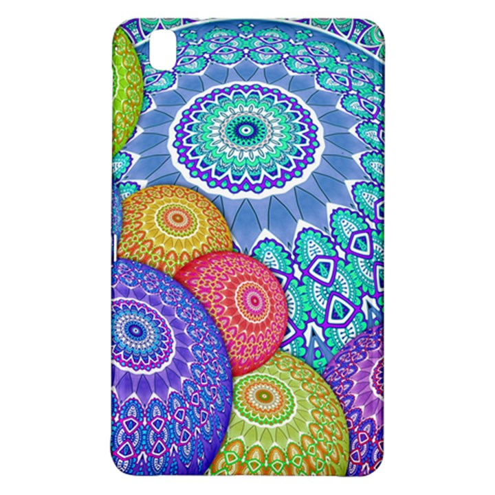 India Ornaments Mandala Balls Multicolored Samsung Galaxy Tab Pro 8.4 Hardshell Case