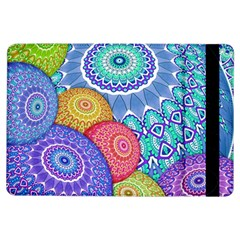 India Ornaments Mandala Balls Multicolored Ipad Air Flip