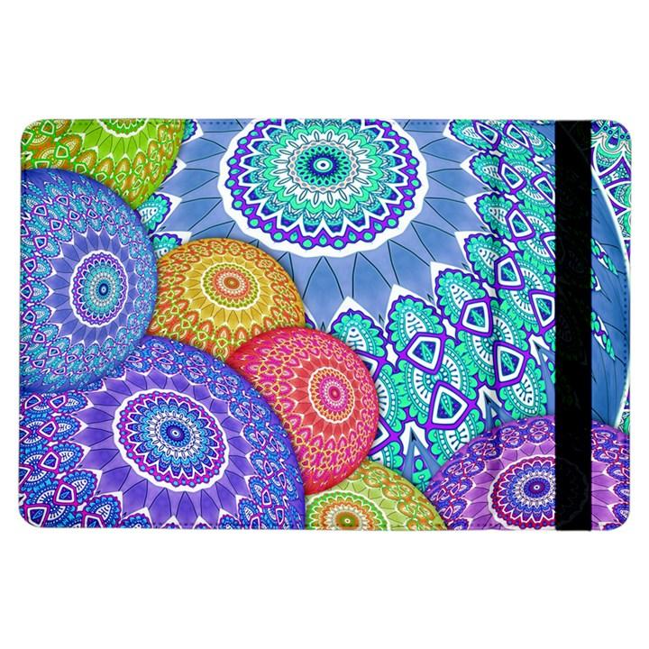 India Ornaments Mandala Balls Multicolored iPad Air Flip