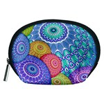 India Ornaments Mandala Balls Multicolored Accessory Pouches (Medium)  Front