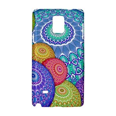 India Ornaments Mandala Balls Multicolored Samsung Galaxy Note 4 Hardshell Case