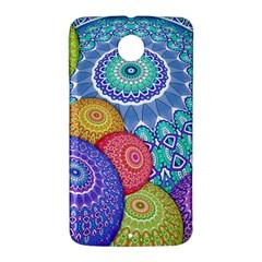 India Ornaments Mandala Balls Multicolored Nexus 6 Case (White)