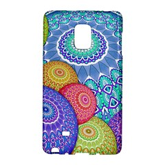 India Ornaments Mandala Balls Multicolored Galaxy Note Edge