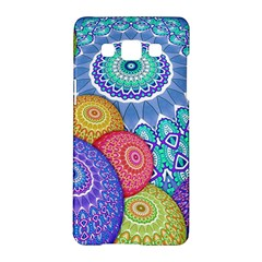 India Ornaments Mandala Balls Multicolored Samsung Galaxy A5 Hardshell Case