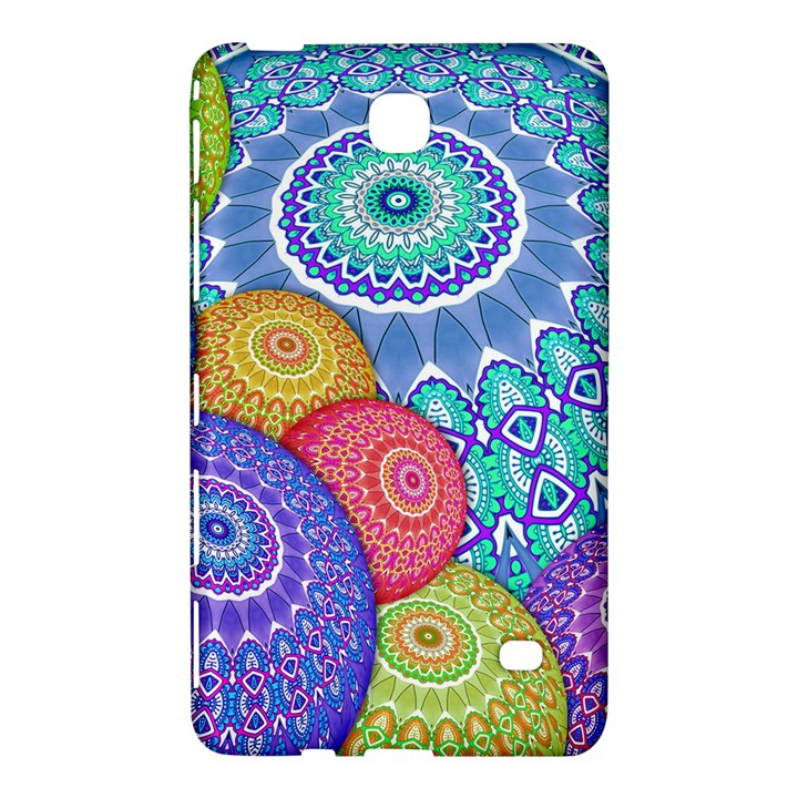 India Ornaments Mandala Balls Multicolored Samsung Galaxy Tab 4 (7 ) Hardshell Case
