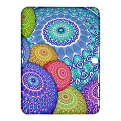 India Ornaments Mandala Balls Multicolored Samsung Galaxy Tab 4 (10 1 ) Hardshell Case