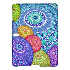 India Ornaments Mandala Balls Multicolored Samsung Galaxy Tab S (10 5 ) Hardshell Case