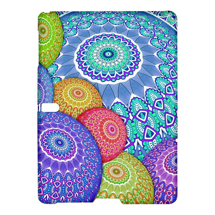 India Ornaments Mandala Balls Multicolored Samsung Galaxy Tab S (10.5 ) Hardshell Case