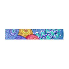 India Ornaments Mandala Balls Multicolored Flano Scarf (mini)