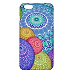 India Ornaments Mandala Balls Multicolored iPhone 6 Plus/6S Plus TPU Case Front