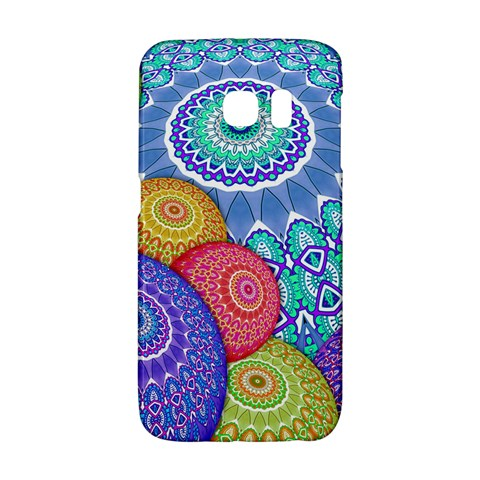 India Ornaments Mandala Balls Multicolored Galaxy S6 Edge