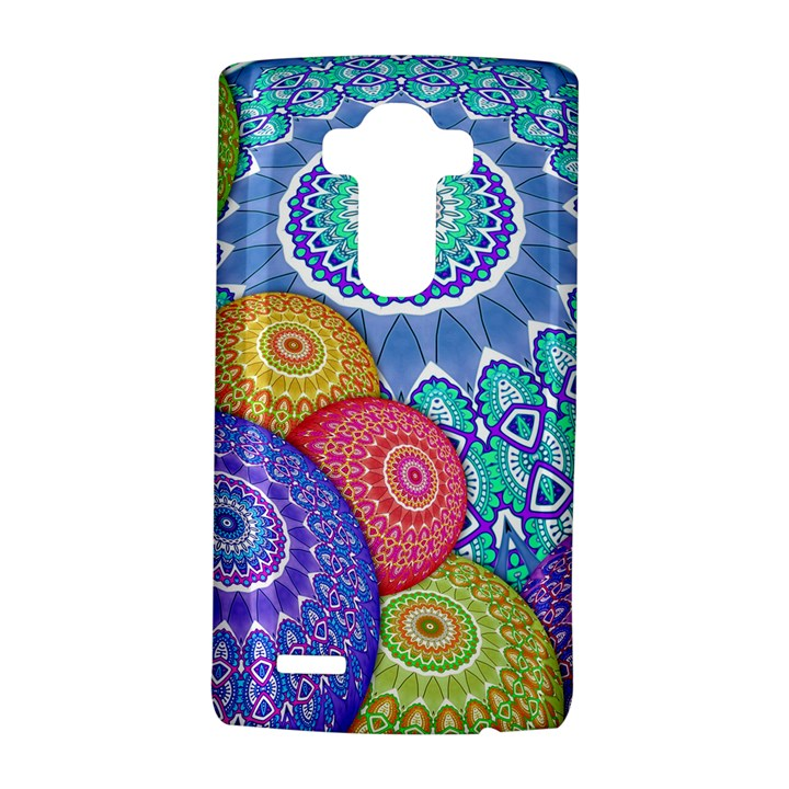India Ornaments Mandala Balls Multicolored LG G4 Hardshell Case