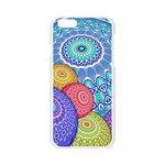 India Ornaments Mandala Balls Multicolored Apple Seamless iPhone 6/6S Case (Transparent) Front