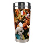 The Village Dance  Stainless Steel Travel Tumbler Left