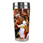 The Village Dance  Stainless Steel Travel Tumbler Center