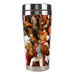 The Village Dance  Stainless Steel Travel Tumbler Right