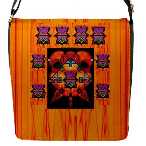 Clothing (20)6k,kk  O Flap Messenger Bag (S)