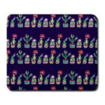 Cute Cactus Blossom Large Mousepads Front