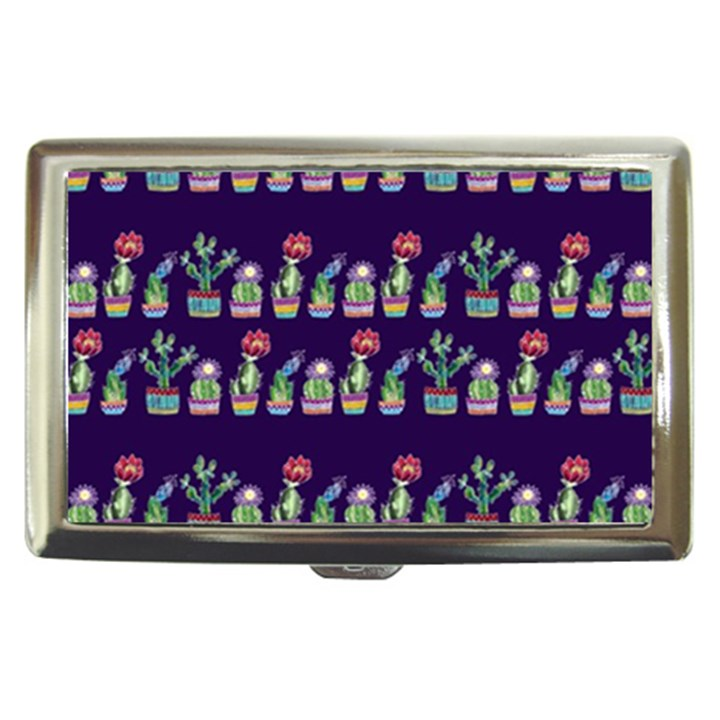 Cute Cactus Blossom Cigarette Money Cases