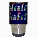 Cute Cactus Blossom Travel Mugs (White) Center