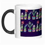 Cute Cactus Blossom Morph Mugs Left