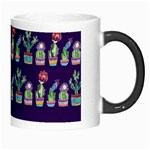 Cute Cactus Blossom Morph Mugs Right