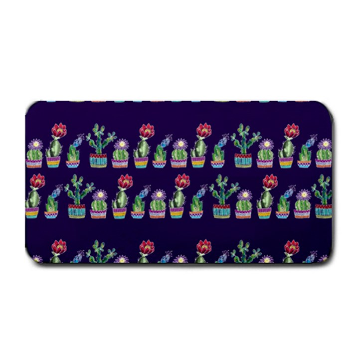 Cute Cactus Blossom Medium Bar Mats