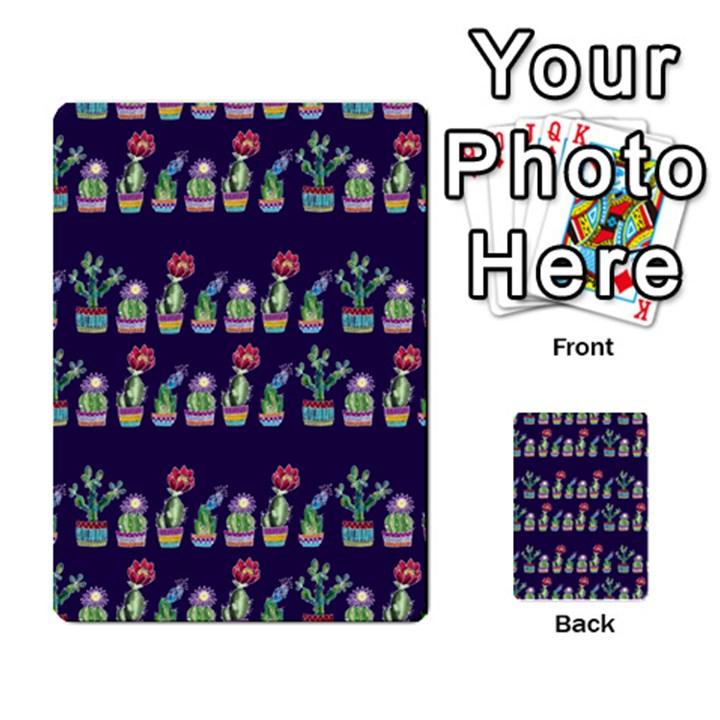 Cute Cactus Blossom Multi-purpose Cards (Rectangle)