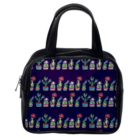 Cute Cactus Blossom Classic Handbags (One Side)