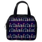 Cute Cactus Blossom Classic Handbags (2 Sides) Back
