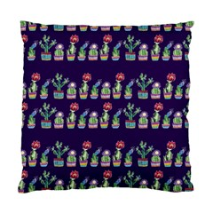 Cute Cactus Blossom Standard Cushion Case (one Side)