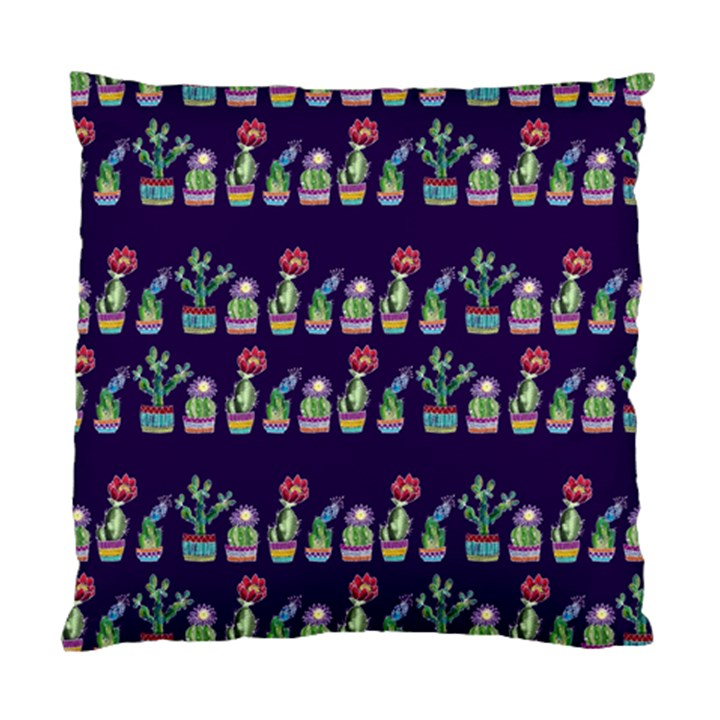 Cute Cactus Blossom Standard Cushion Case (Two Sides)