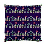 Cute Cactus Blossom Standard Cushion Case (Two Sides) Back
