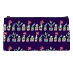 Cute Cactus Blossom Pencil Cases Front