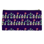 Cute Cactus Blossom Pencil Cases Back
