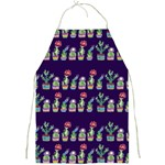 Cute Cactus Blossom Full Print Aprons Front